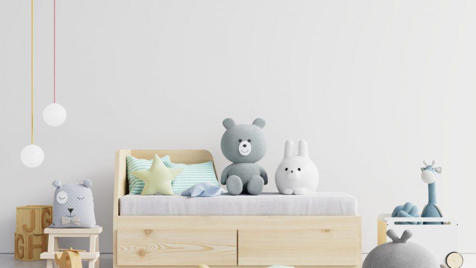 Une chambre d'enfant aménagée sur mesure